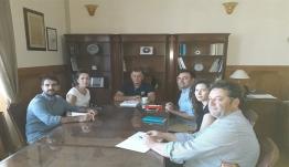 Έπίσκεψη αντιπροσωπείας Υπ Αρμ ΟΗΕ στο Δήμαρχο Κω