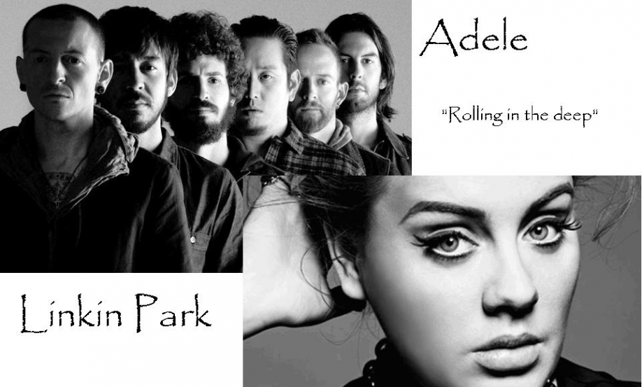 Linkin Park vs Adele Rolling in Deep;
