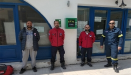 Επτά αυτόματους εξωτερικούς απινιδωτές προσέφερε στο Δήμο Κω η Ύπατη Αρμοστεία του ΟΗΕ