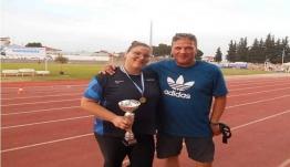 Η Μαρία Μαγκούλια κατέκτησε χρυσό μετάλλιο στο Πανελλήνιο Πρωτάθλημα Κ20 στην Κατερίνη