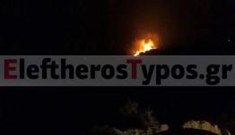 Πυρκαγιά στα Κύθηρα: Καίγεται το δάσος – Στη μάχη με όλα τα μέσα η Πυροσβεστική
