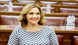 Μίκα Ιατρίδη: «Ιστορική στιγμή για τη χώρα η εκλογή της Αικατερίνης Σακελλαροπούλου στην Προεδρία της Δημοκρατίας»