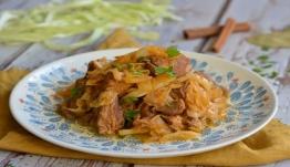 Η συνταγή της ημέρας: Χοιρινό με λάχανο
