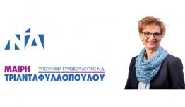 Μαίρη Τριανταφυλλοπούλου, Μήνυμα για τις Ευρωεκλογές.