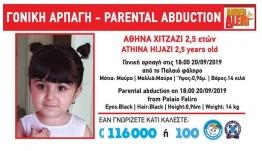 Συναγερμός στο Παλαιό Φάληρο: Γονική αρπαγή κοριτσιού 2,5 ετών [εικόνα]