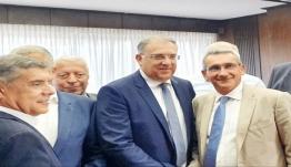 Ο Γιώργος Χατζημάρκος στην πρώτη συνάντηση του νέου Υπουργού Εσωτερικών με τους 13 εκλεγέντες Περιφερειάρχες της χώρας