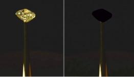 Απίστευτο: Έφτιαξαν το πιο μαύρο υλικό του πλανήτη που απορροφά το 99,96% του φωτός [βίντεο]