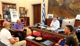 Το ζήτημα της επαναλειτουργίας της ΕΤΑΙΠΡΟΦΥΚΑ αντικείμενο της συνάντησης της Περιφερειακής Αρχής και του προέδρου των εργαζομένων της Εταιρείας