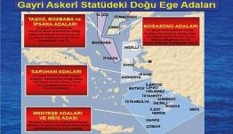 Τουρκικός Τύπος: Η Ελλάδα χάνει τα νησιά του Αιγαίου επειδή έστειλε στρατό – Χάρτης πρόκληση
