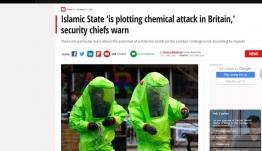 Αποκάλυψη-βόμβα από τη Mirror: Οι Βρετανοί φοβούνται τρομοκρατικό χτύπημα με χημικά από τον ISIS