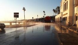 «καθαριότητα παντού – συνεχίζονται οι καθαρισμοί κεντρικών οδών»