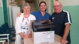 Έμπρακτη στήριξη στο νοσοκομείο Καλύμνου, από ομάδα Βρετανών που διαμένουν στο νησί