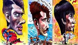 Διάσημος ζωγράφος δημιούργησε τα σκίτσα των πρωταγωνιστών του Master Chef 3!