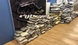 Ακόμα καίνε! Στην «πυρά» δύο τόνοι χασίς και άλλα ναρκωτικά από την ΕΛΑΣ ! Πάνω από 14.000 συλλήψεις μέσα στο 2019
