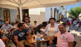 Η υποψήφια βουλευτής Δωδεκανήσου με τη ΝΔ Τώνια Μοροπούλου στη Ρόδο, Σύμη και Χάλκη