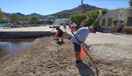 Η Περιφέρεια Νοτίου Αιγαίου στηρίζει τις δράσεις για καθαρές παραλίες