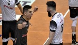 Κυπελλούχος ο «Δικέφαλος» με 3-1 τον Ηρακλή για το Κύπελλο Ελλάδος στο βόλεϊ