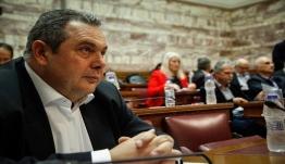 Καμμένος: Εθνικές εκλογές άμεσα - Είμαι ανήσυχος για στάση του Ερντογάν