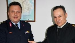 Συνάντηση του Γενικού Περιφερειακού Αστυνομικού Διευθυντή Νοτίου Αιγαίου με τον Διοικητή της Ανωτάτης Στρατιωτικής Διοίκησης Εσωτερικού και Νήσων