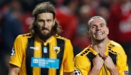 Το χειρότερο φινάλε για την ΑΕΚ που έχασε με 1-0 από την Μπενφίκα για το Champions League