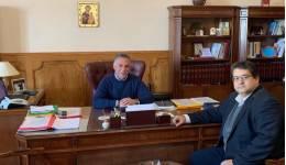 Χ. Κόκκινος με Δήμαρχο Κω: Να επισπευσθούν τα έργα αποκατάστασης των ζημιών που προξένησε ο σεισμός στην Κω