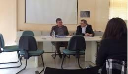 Για θέματα της περιοχής (πέργκολες, υδατορέματα κλπ) συζήτησε ο βουλευτής Ηλίας Καματερός.