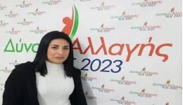 ΝΤΙΝΟΡΗ ΜΑΡΙΑ: Μια νέα γυναίκα υποψήφια με τον Γιώργο Κυρίτση και τη Δύναμη Αλλαγής-Κως 2023