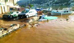 Δάνεια με εγγύηση του Δημοσίου σε πληγέντες από την πλημμύρα στη Σύμη