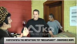 ΒΙΝΤΕΟ: Η μυσταγωγία της μετάγγισης στο Οινοποιείο ΜΕΣΑΡΙΑΝΟ